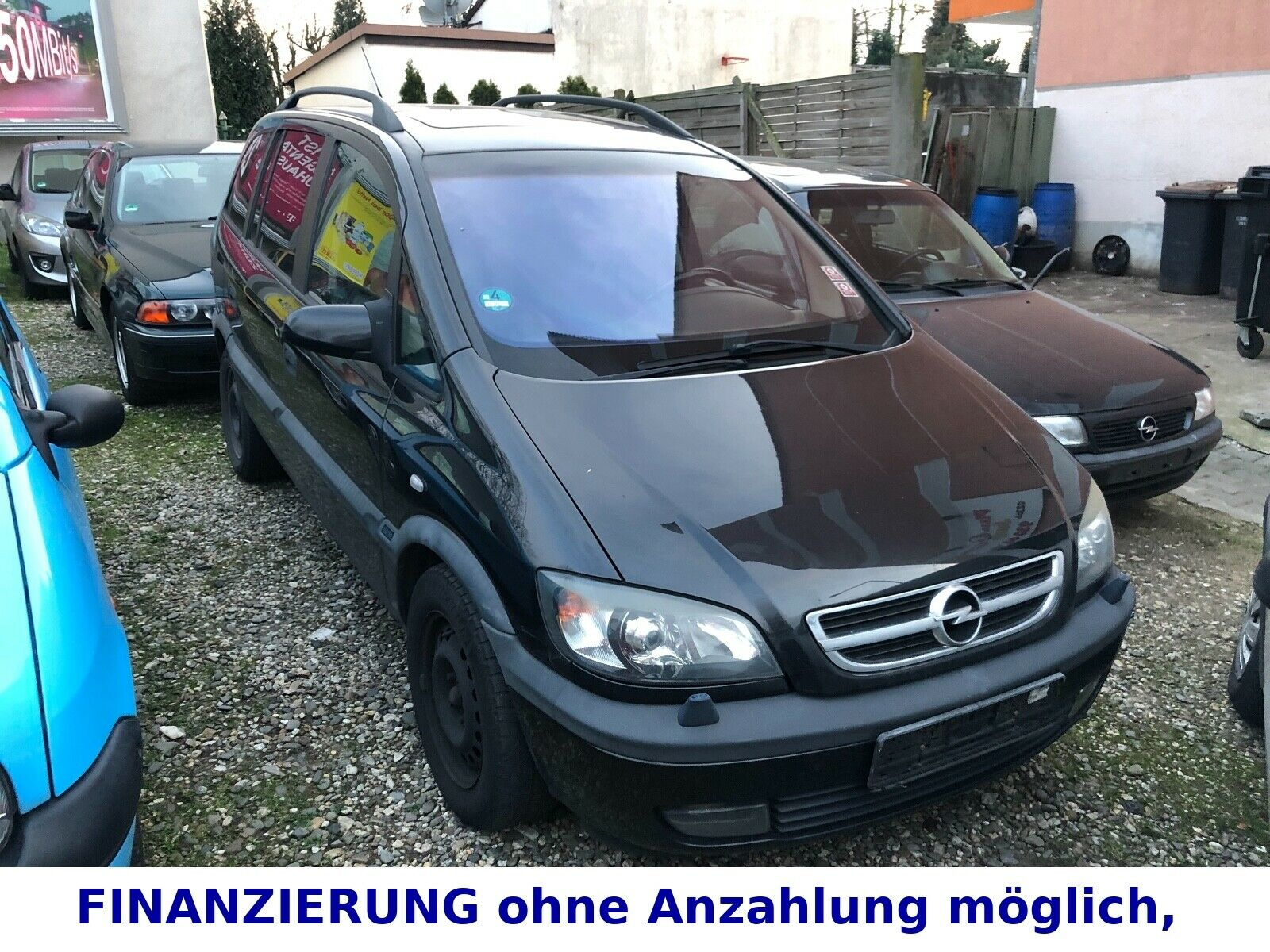 OPEL Zafira 2.0 DTI Selection Executive - Schiebedach