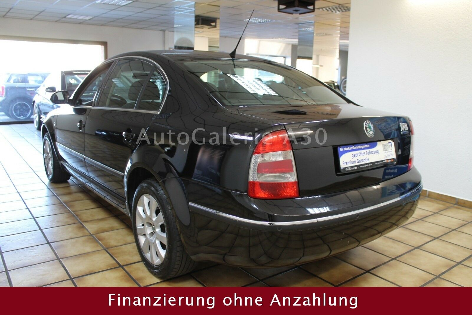 SKODA Superb Exclusive Klimaautomatik