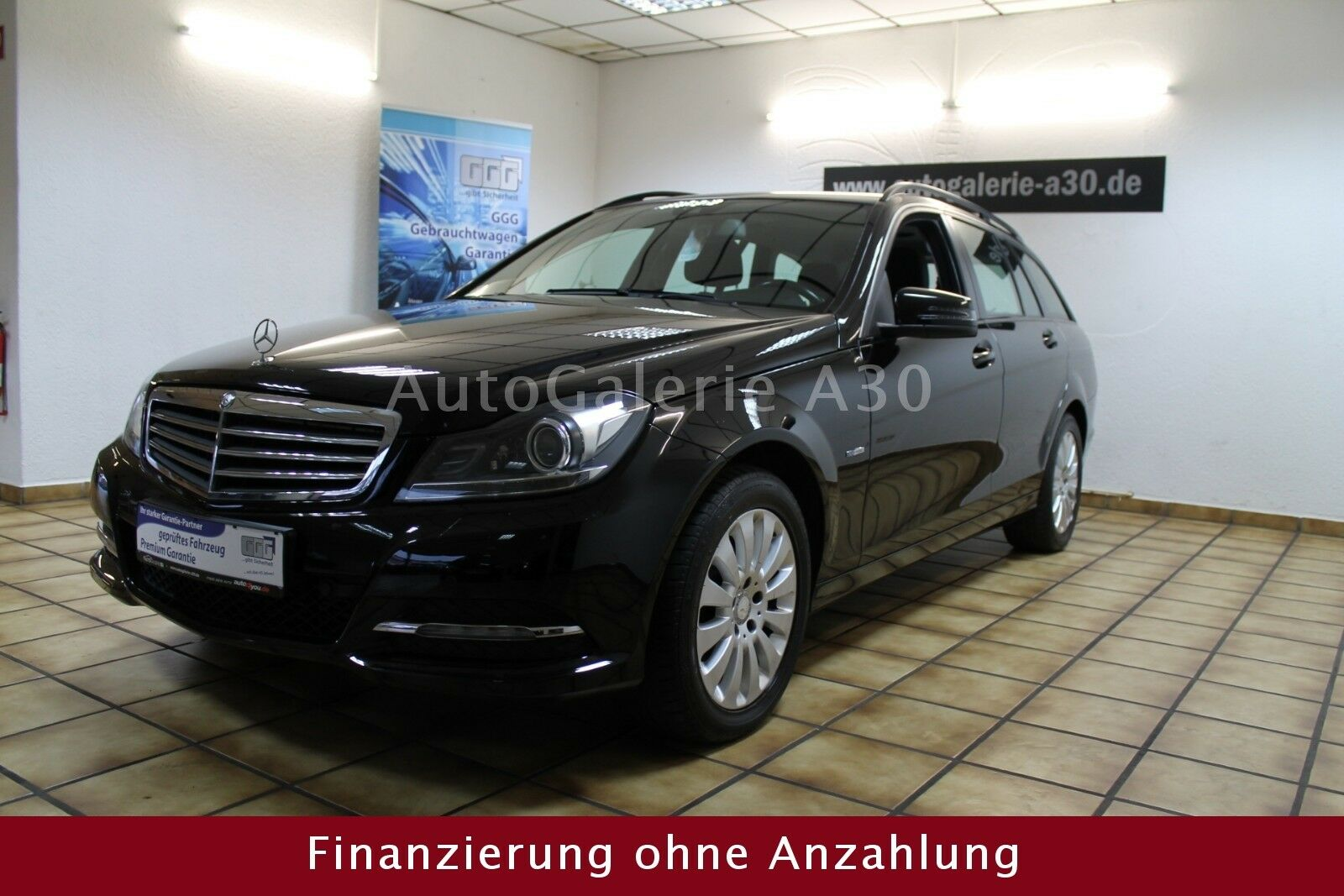 MERCEDES-BENZ C 200 T CDI BlueEfficiency Navi Bi-Xenon Klima