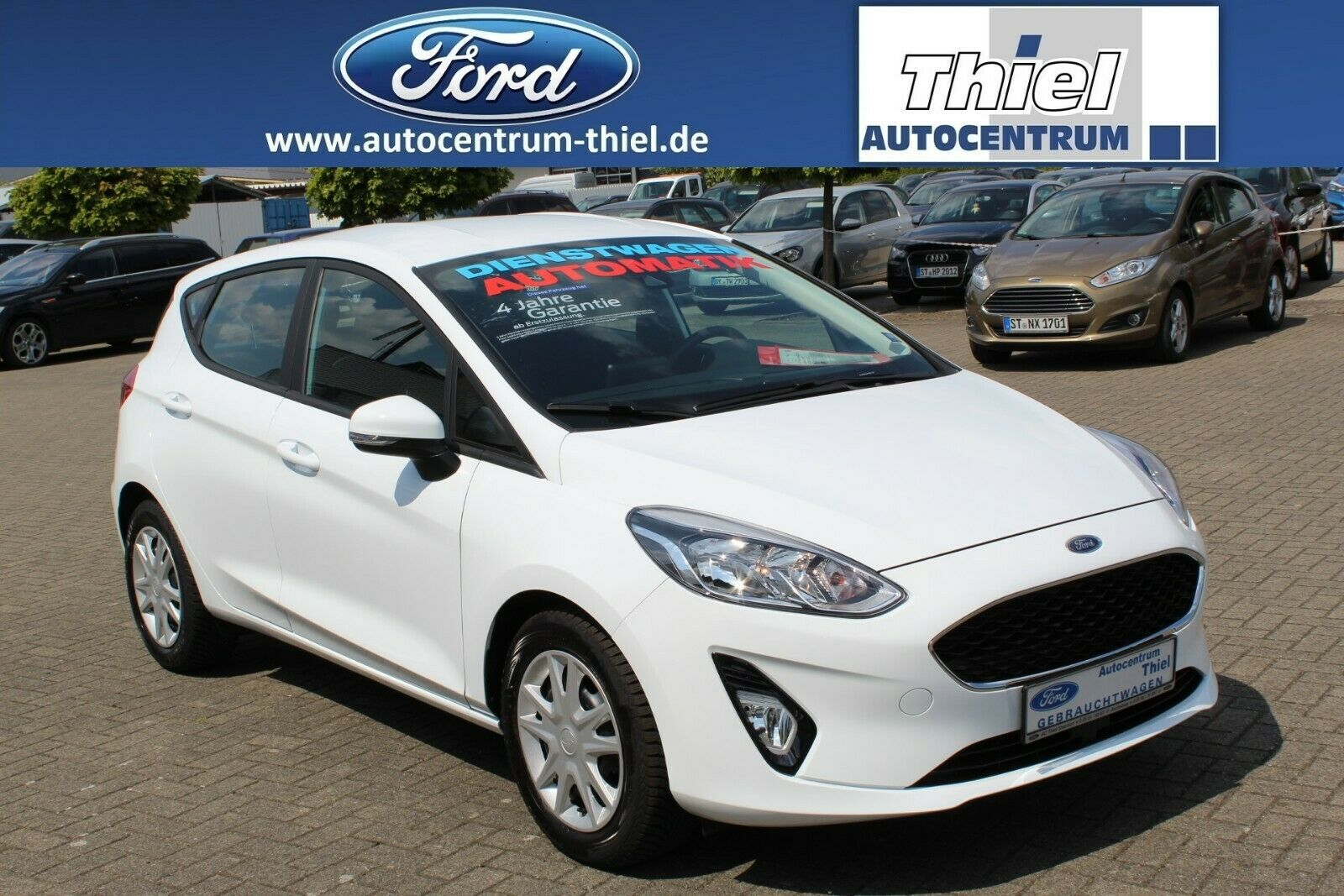 FORD Fiesta Cool&Connec EcoBoost 100PS AUTOMATIK E6.2