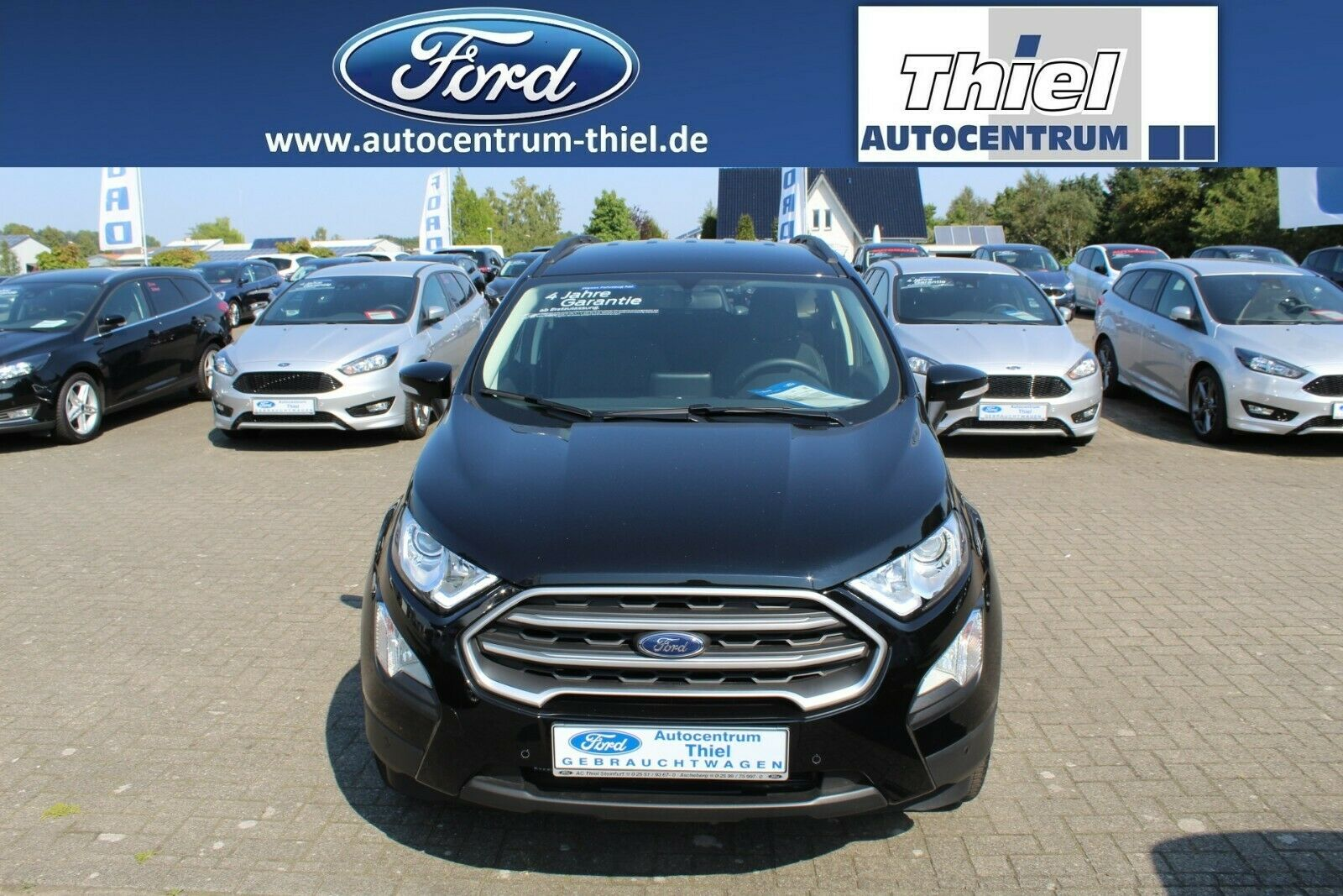 FORD EcoSport 1,0 EcoBoost 125PS Cool&Connect