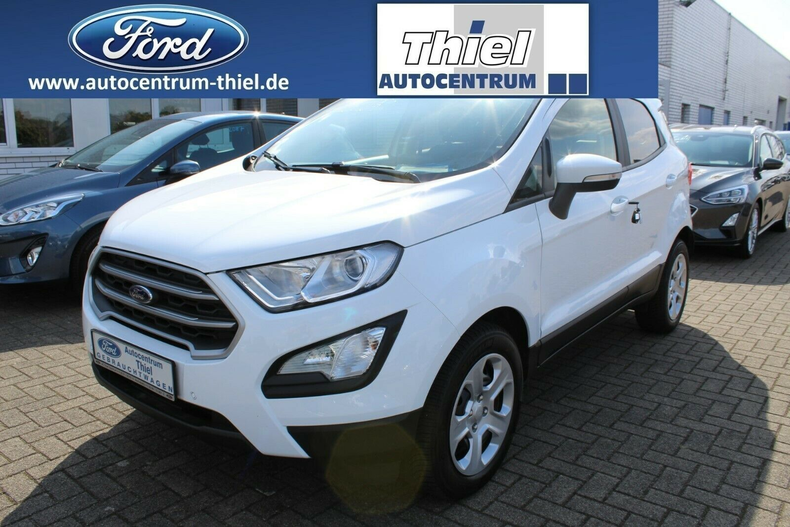 """FORD EcoSport EcoBoost """"Cool&Connect"""" 100PS Navi"""
