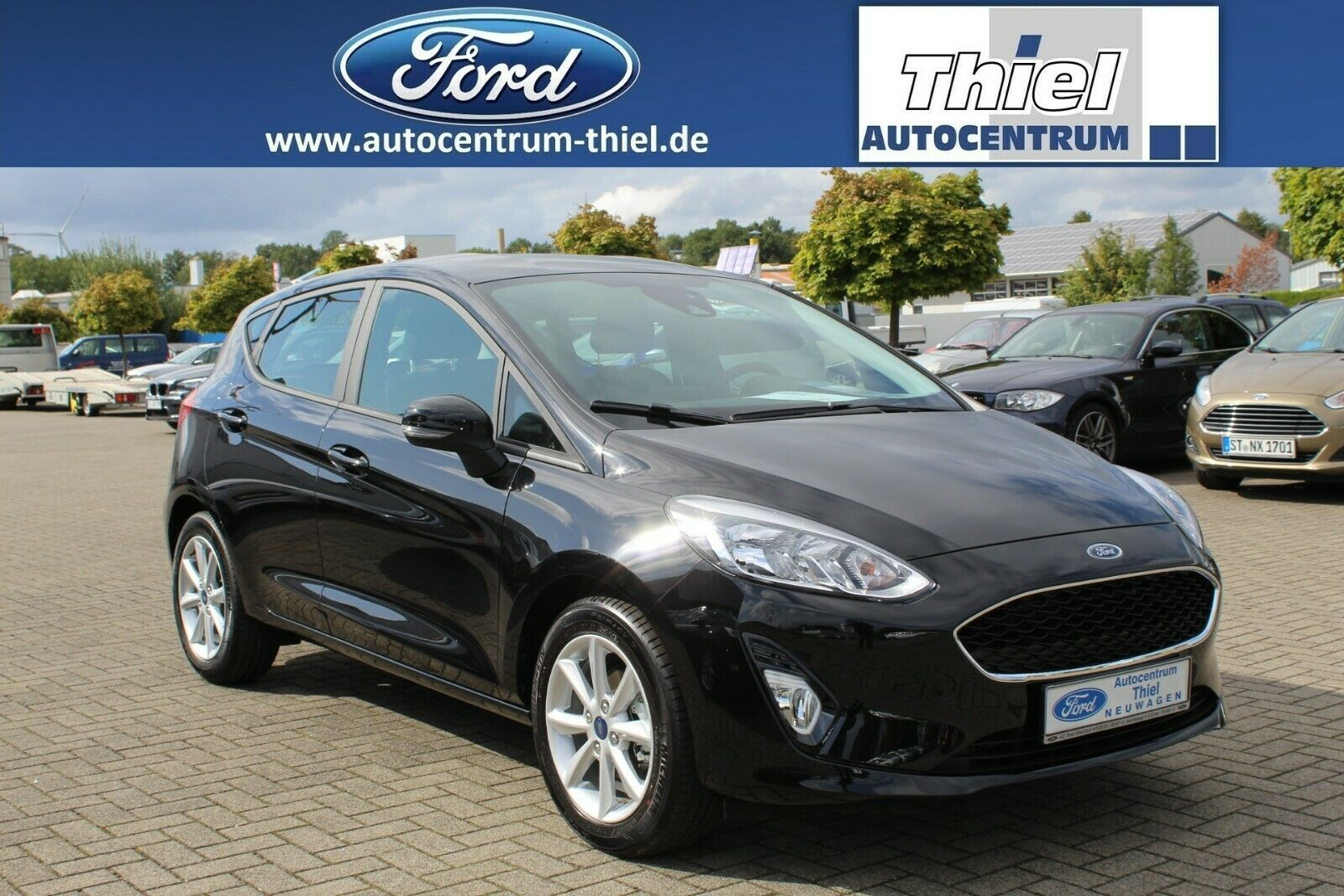 FORD Fiesta EcoBoost 100PS Cool&Connect Klimaaut. LMF