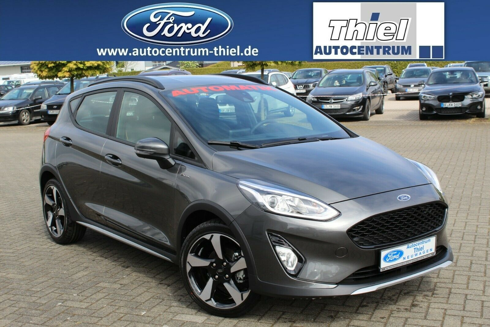 FORD Fiesta 100 PS Active Colourline AUTOMATIK