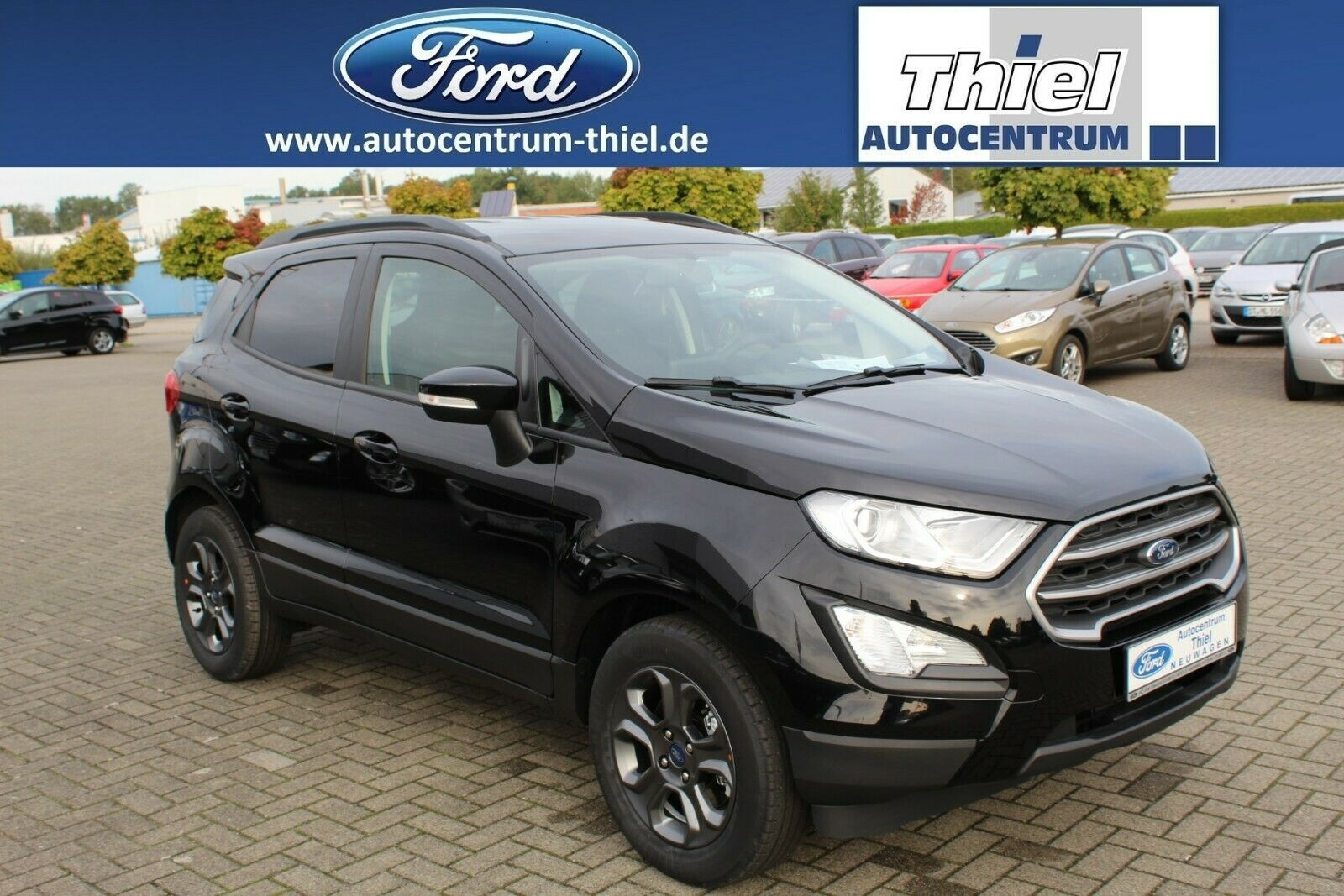 FORD EcoSport 125PS Cool&Connect Navi LMF Klima