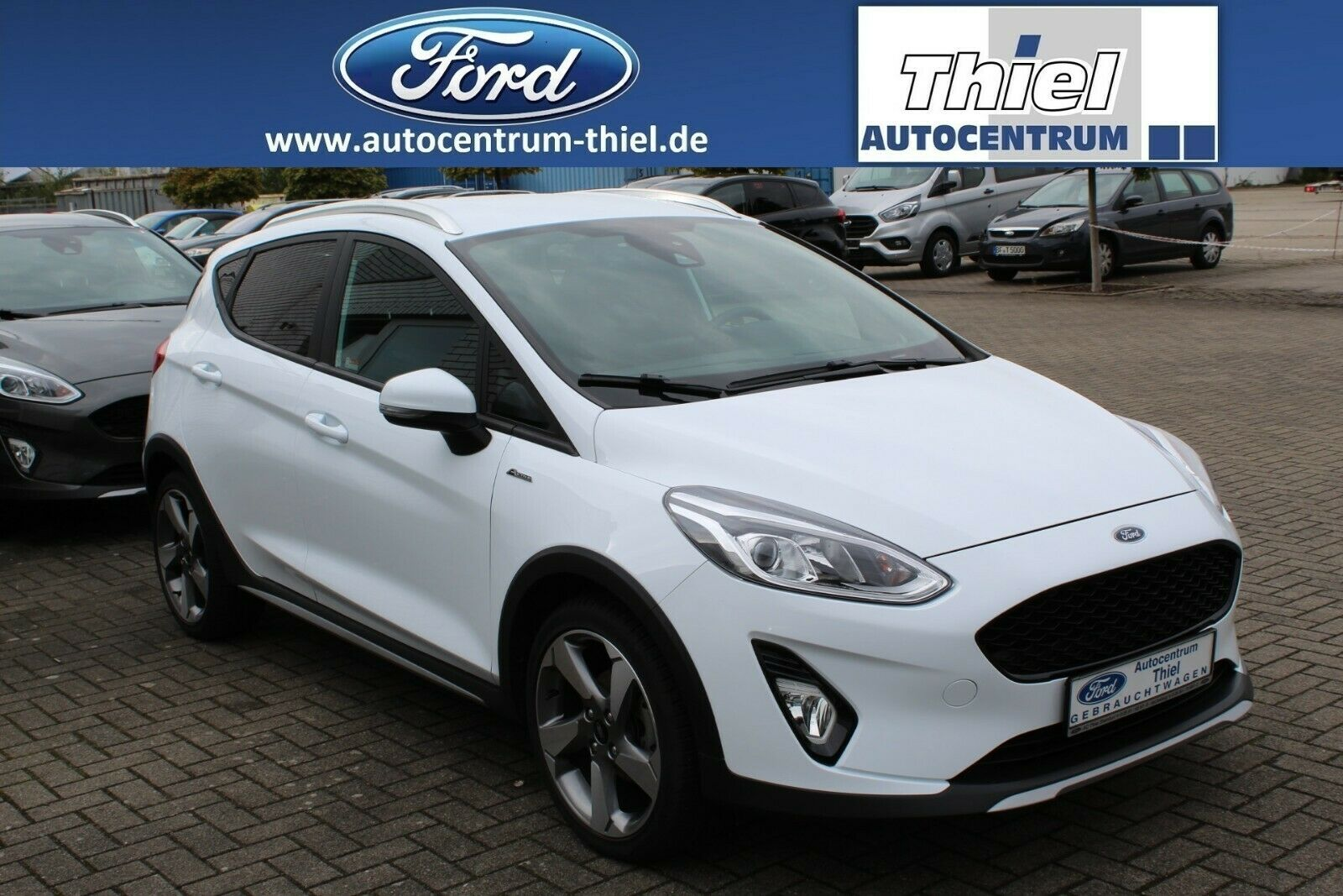 FORD Fiesta 1,0EcoBoost Active Plus 125PS NAVI 4J.Gar