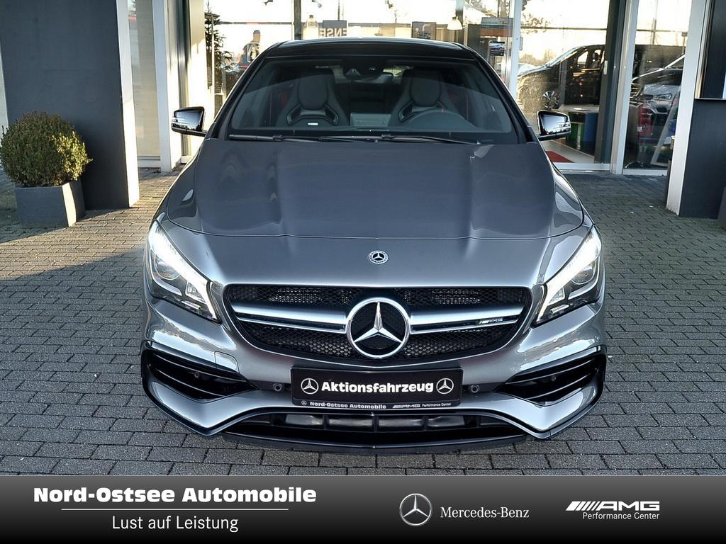 Mercedes-Benz AMG CLA 45 4MATIC Shooting Brake Nightpaket Abga