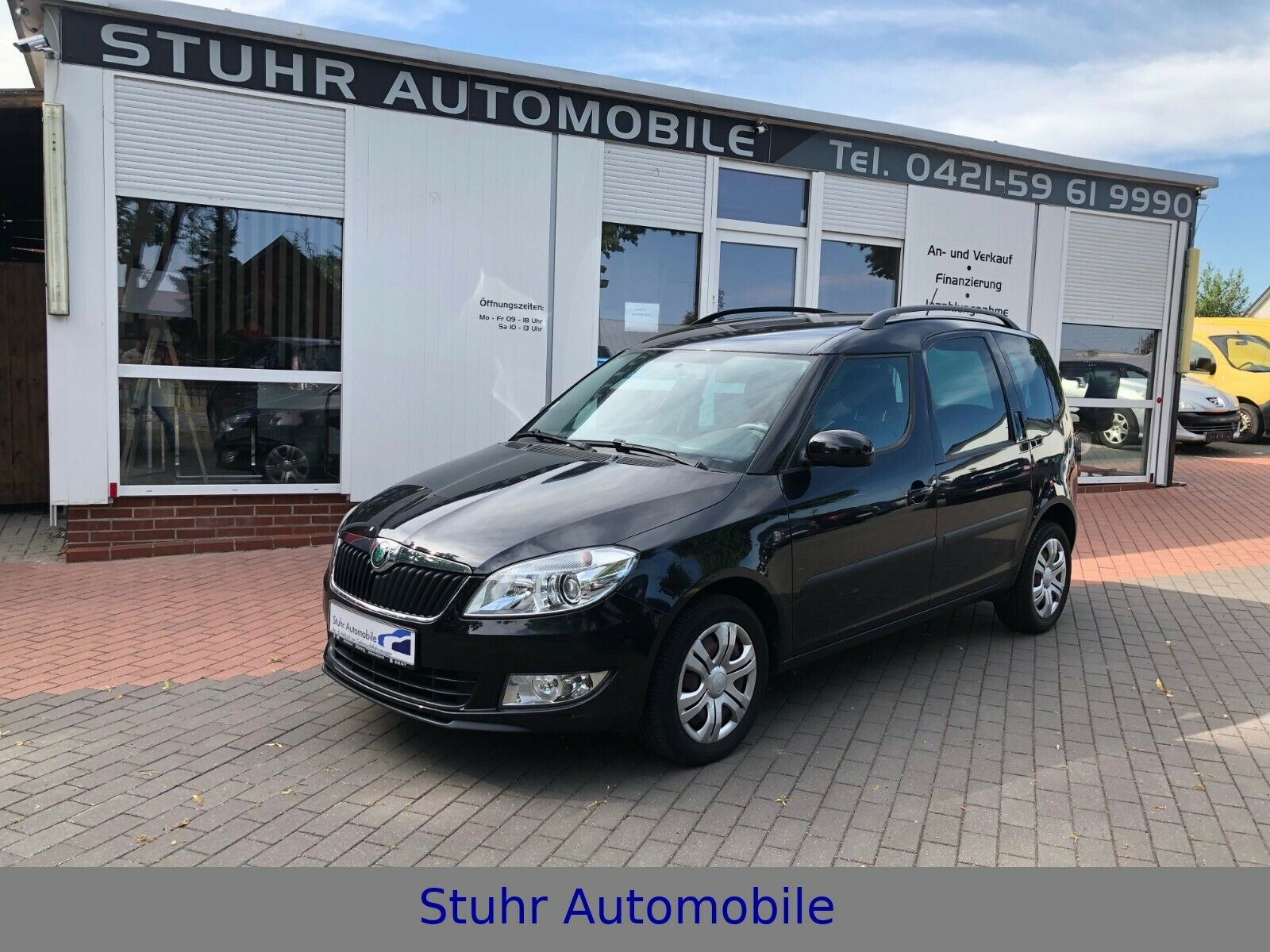 SKODA Roomster Style Plus Edition Aut. SHZ PDC 2. Hand