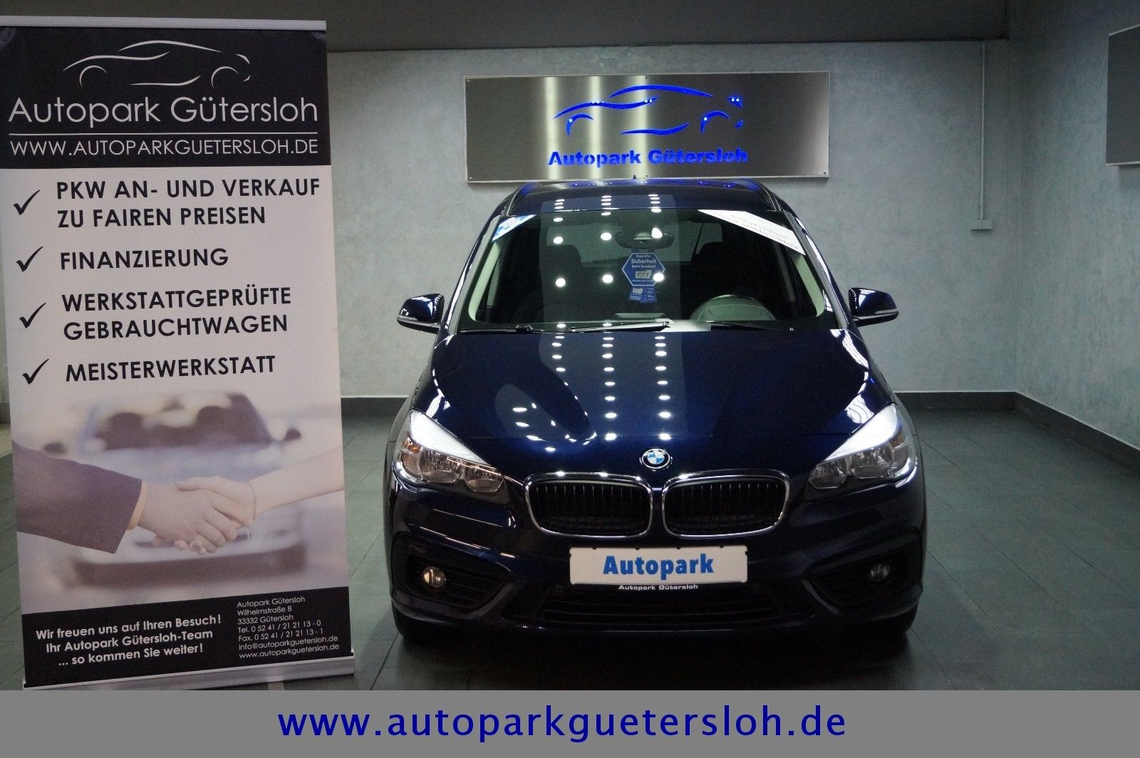 BMW 218d Gran Tourer Aut. Advantage*1.HD/Euro-6 Kat*