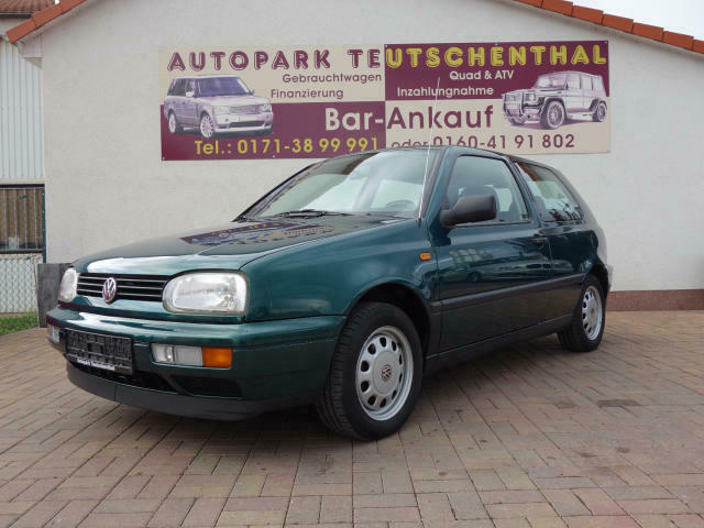 VW Golf CL III Lim. (1H1), 1.Hand, Klima