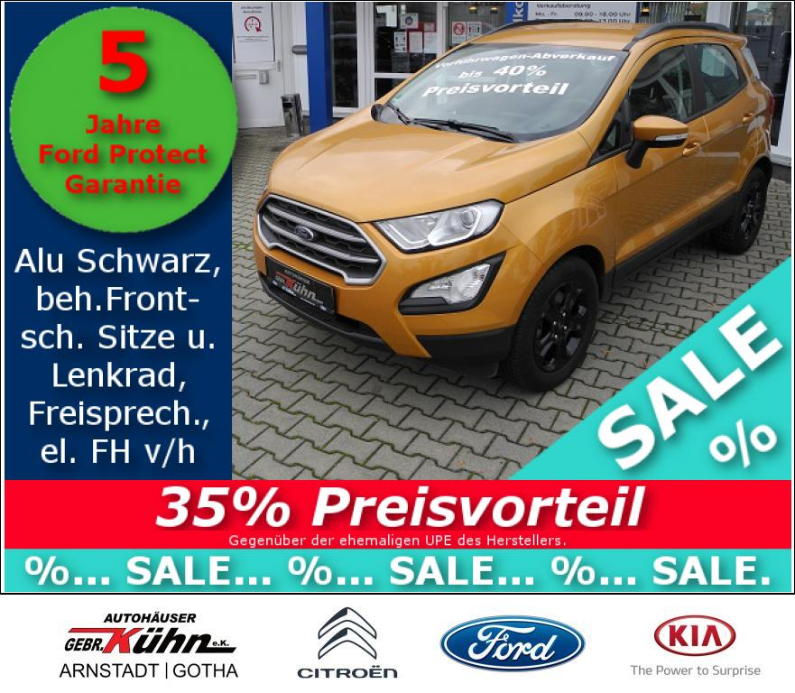 FORD ECOSPORT 1.0 TREND - Reling, Winter, LED TFL