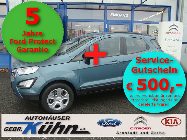 FORD ECOSPORT 1.0 Aut. COOL&CONNECT - Navi, Klimaaut.