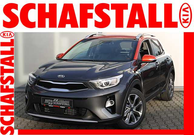 KIA Stonic 1.0 T-GDI Platinum Edition | grau/orange