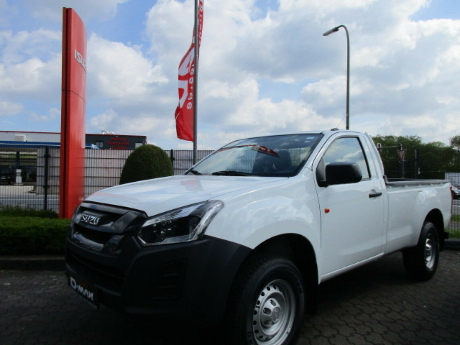ISUZU D-Max Single Cab 4x4 Basis Sofort lieferbar!