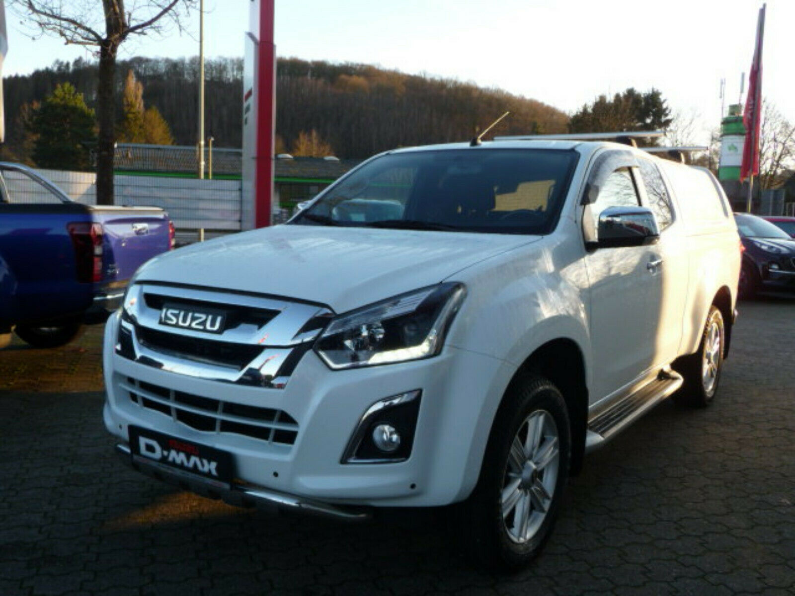 ISUZU D-Max Space Cab AT Custom Navi Klima AHK Euro6
