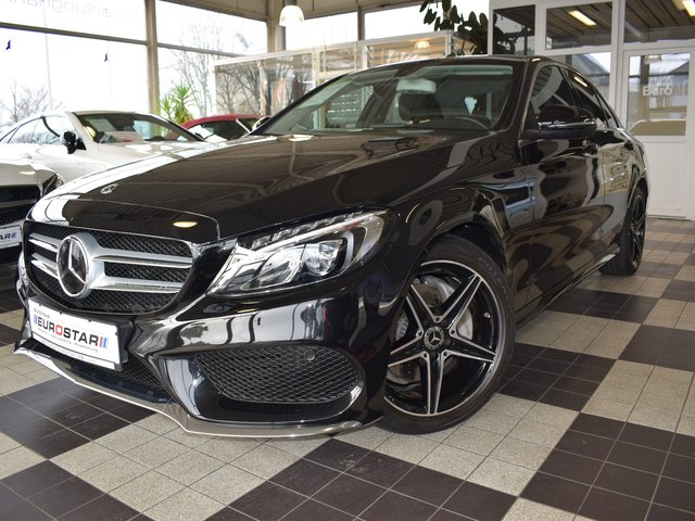 MERCEDES-BENZ C 200 CGi Limo AMG Line *LED*Navi*Distronic Pro*