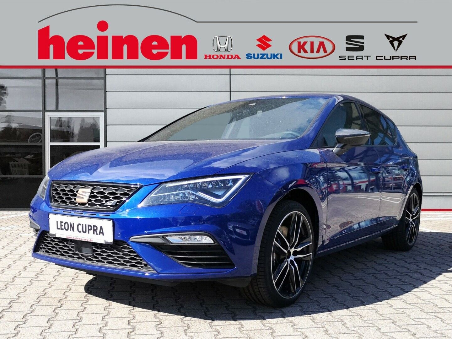 SEAT Leon Cupra 290 2.0 TSI DSG Privacy Glass  Alcant