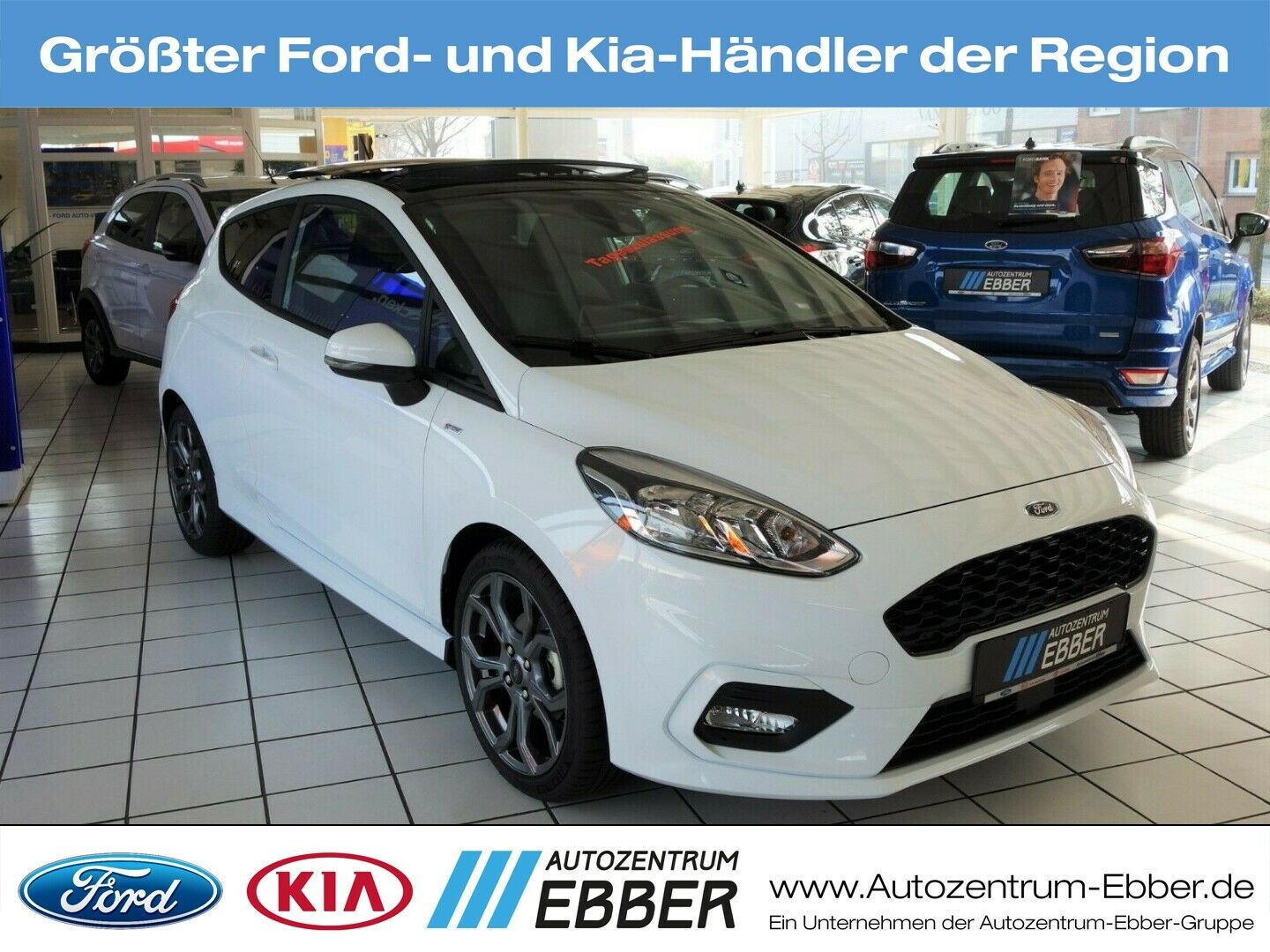 FORD Fiesta ST-Line EcoBoost, Panoramadach, B&O