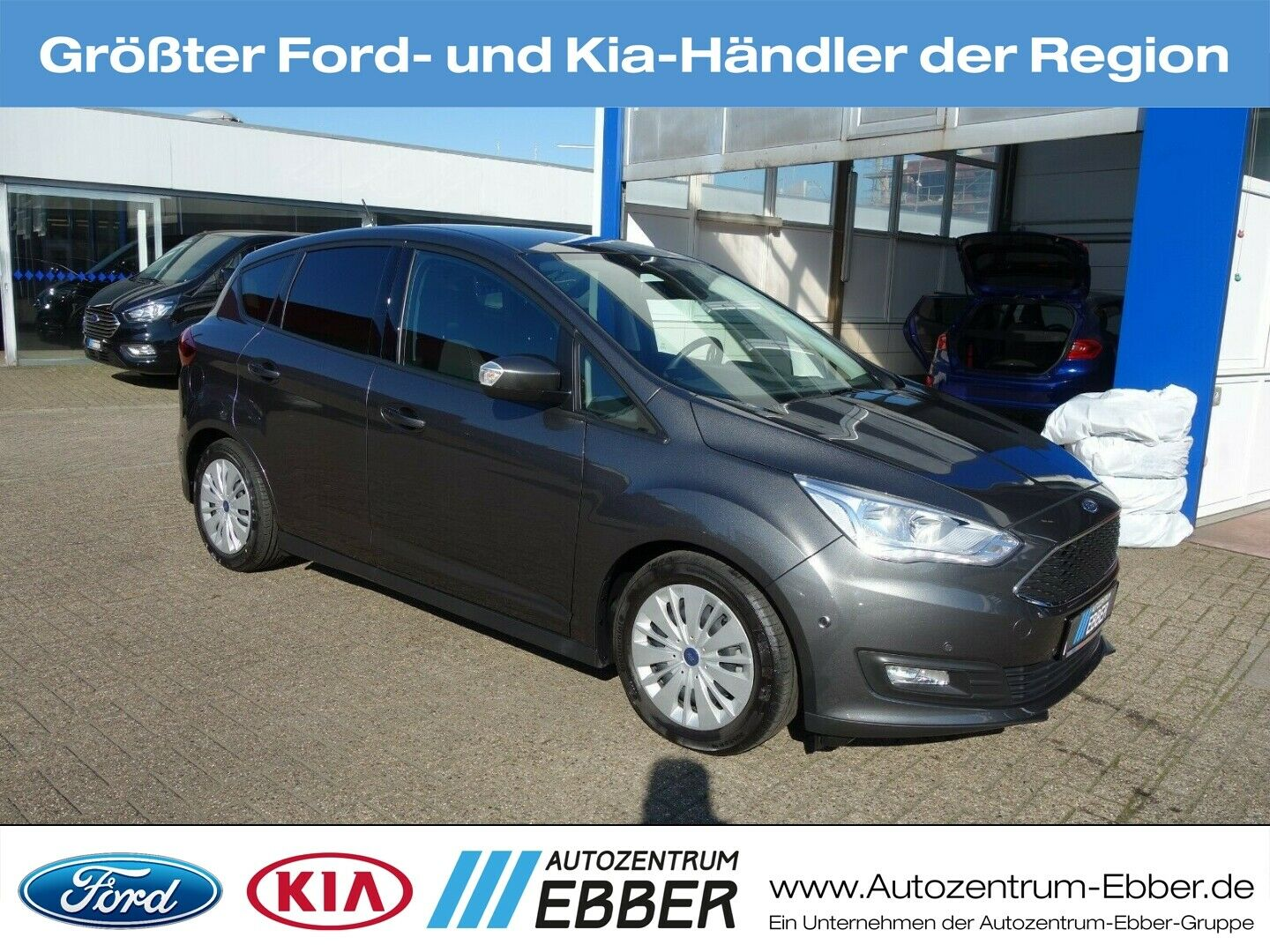 FORD C-Max 1.0 EcoBoost Business, Sync 3