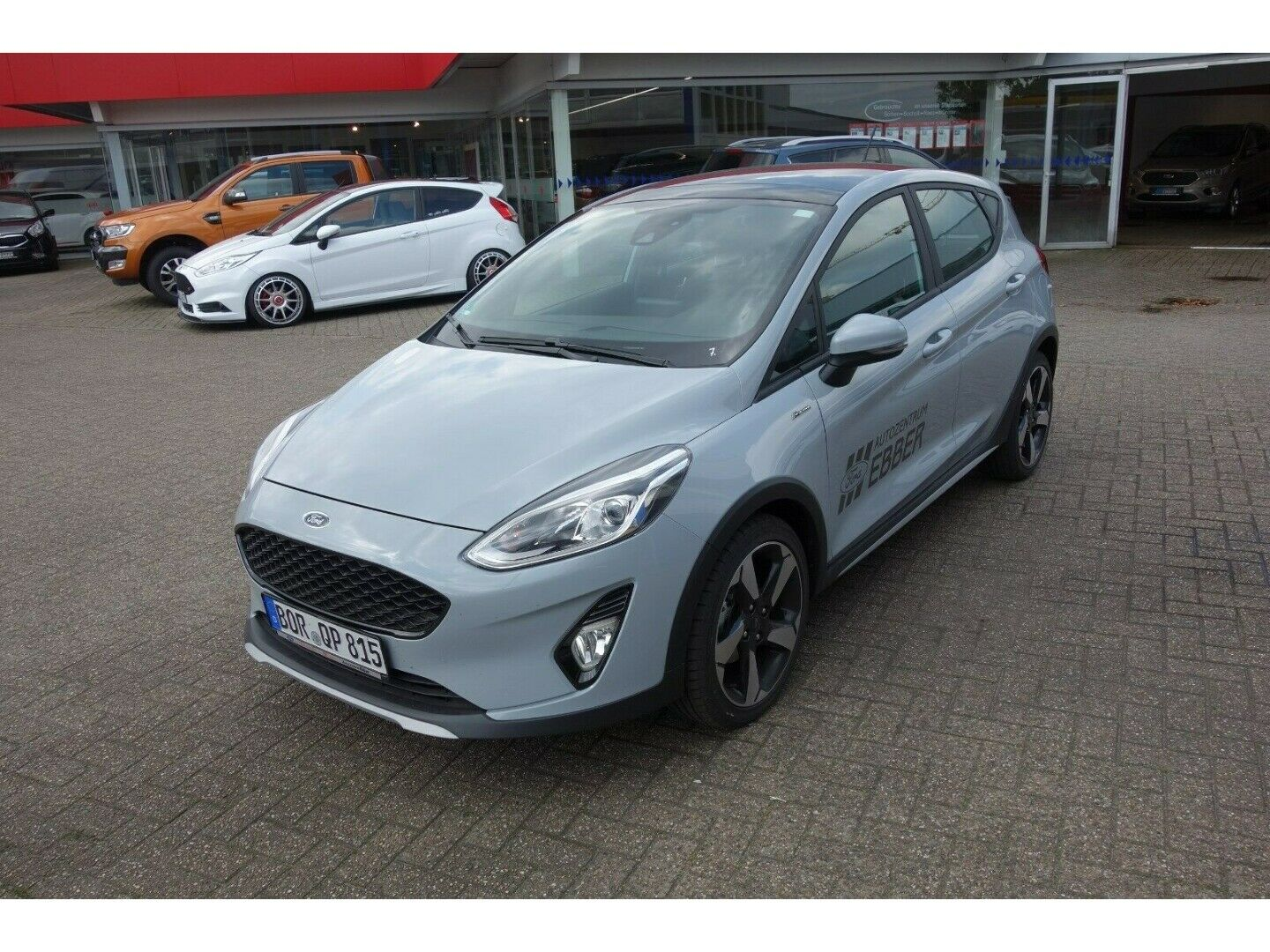 FORD Fiesta Active Colourline-Navi-DAB-Panoramadach!