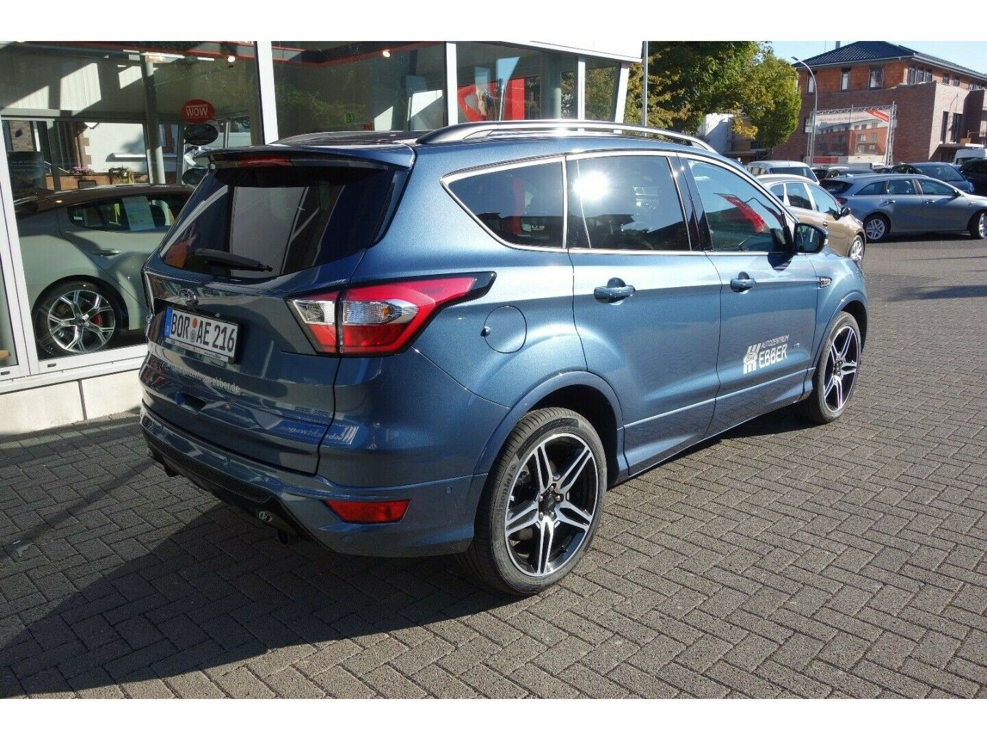 ford kuga st line automatik chroma blau acc ahk. Black Bedroom Furniture Sets. Home Design Ideas