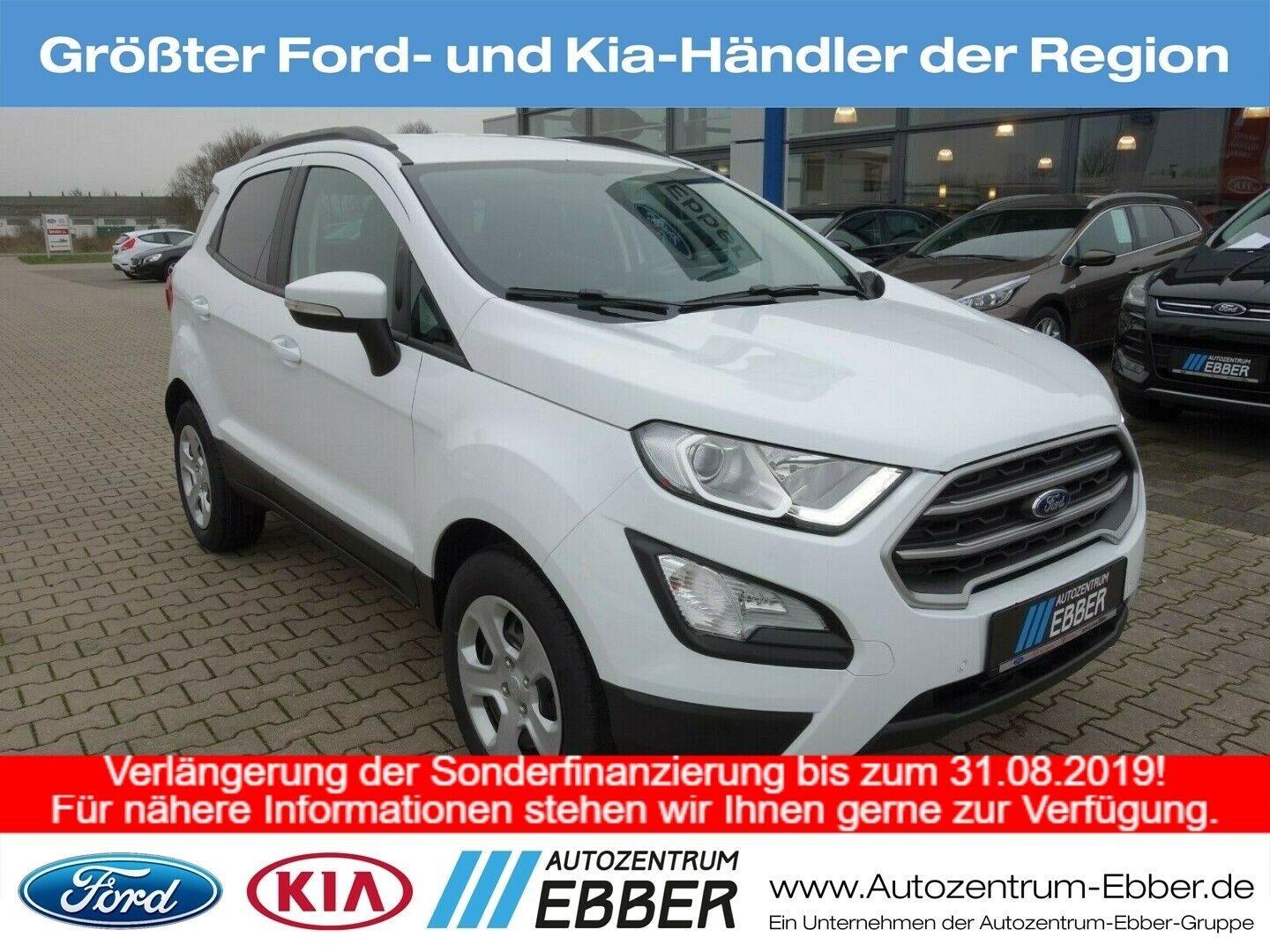 FORD EcoSport Trend 1.0 EcoBoost, Winterpaket, Sync!