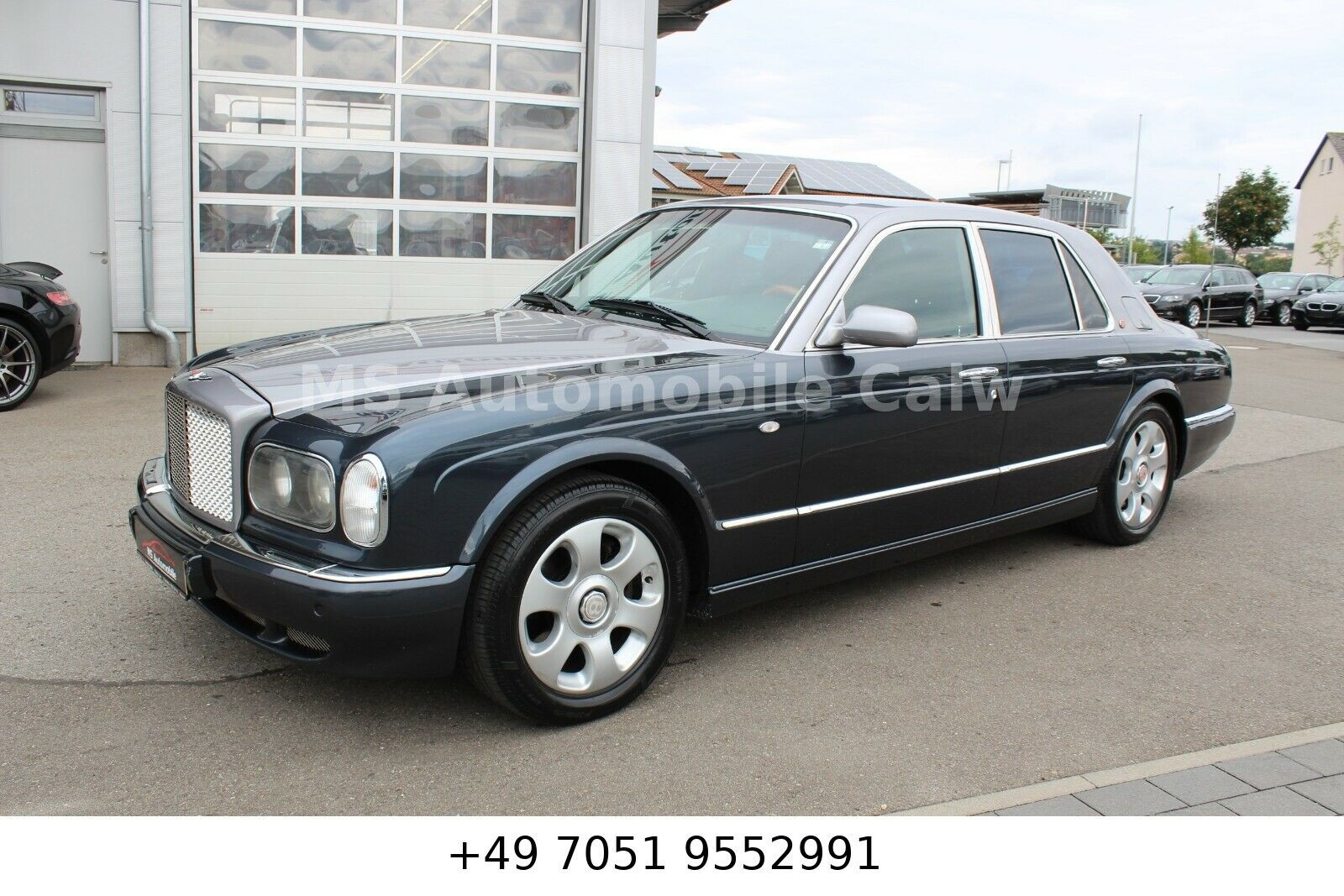 BENTLEY Arnage Red Label _2 Tone_Fond Ent._Memory_Bi Col