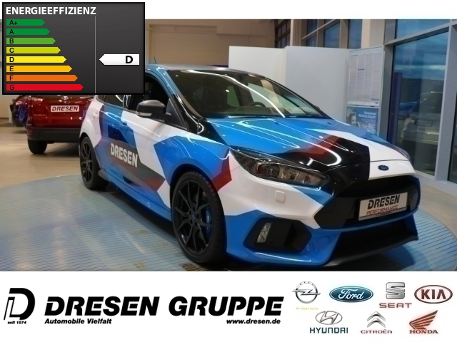 Ford Focus RS Blue Black Tempomat+Klimaautom.+ Navi