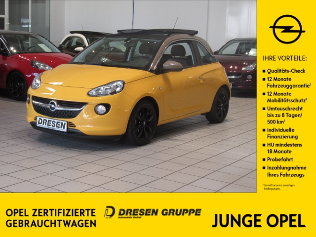 Opel Adam Open Air 1.0 Turbo/Klima+Faltdach+Sitzheizu