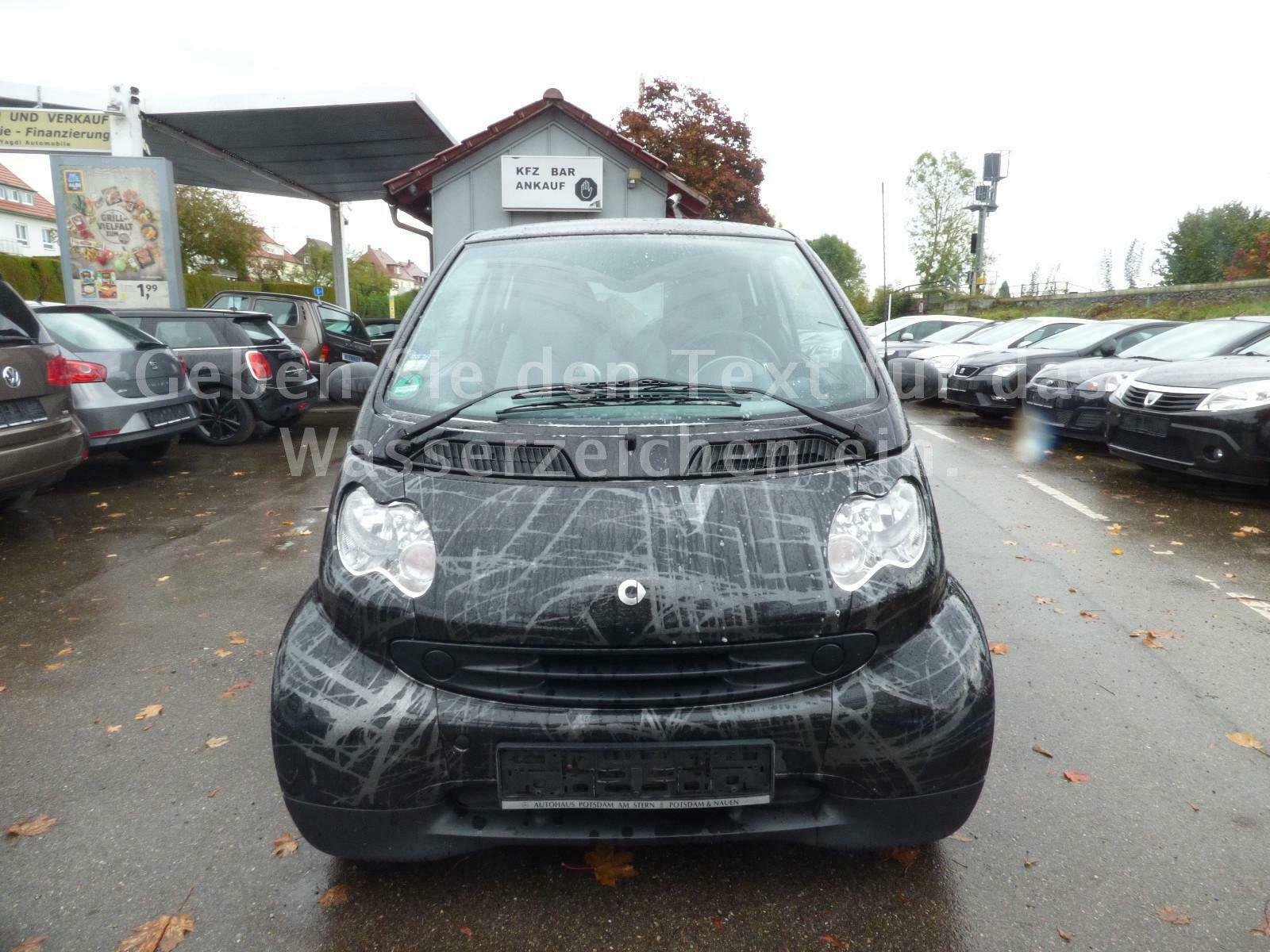 SMART coupe / fortwo coupe CDI Basis