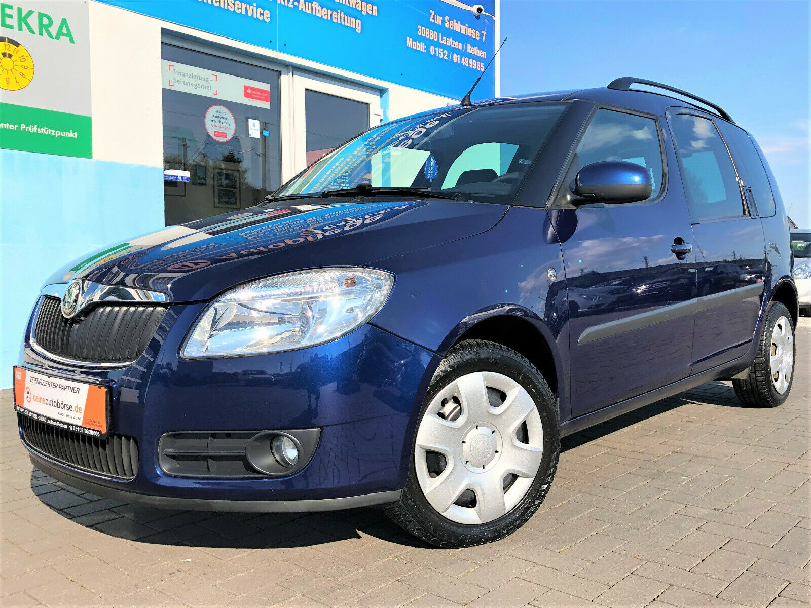 SKODA Roomster Style Plus Edition 1.6  Automatik