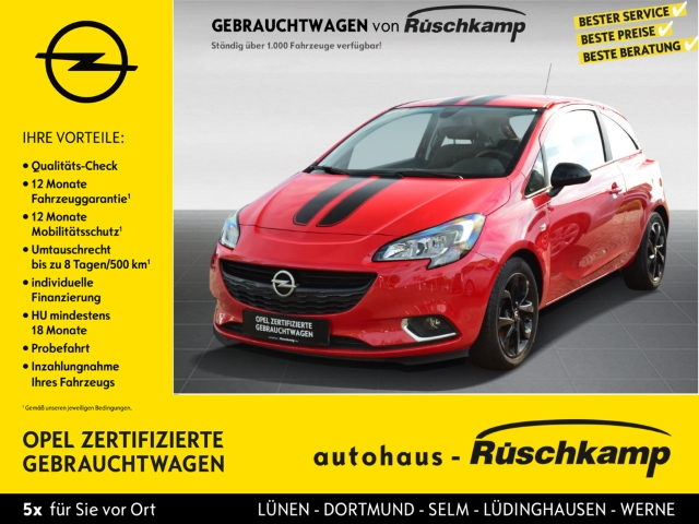 Opel Corsa E Color Edition 1.4, 4.0 IntelliLink Front