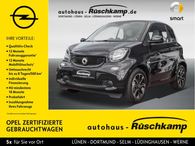 Smart fortwo coupe Passion Panorama LED-Tagfahrlicht M