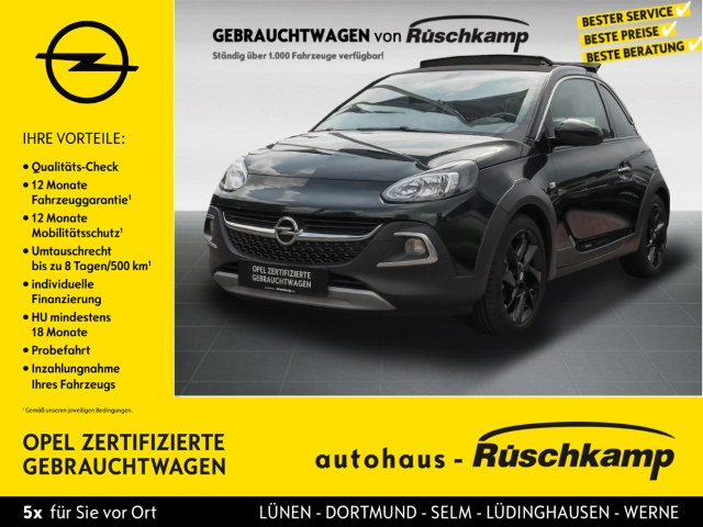 Opel Adam Rocks 1.4 El. Panodach Panorama LED-hinten