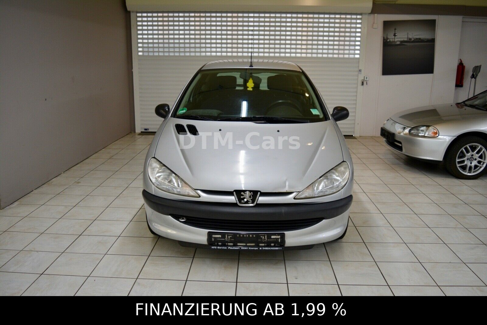PEUGEOT 206 Presence, Bluetooth, CD-Player,USB