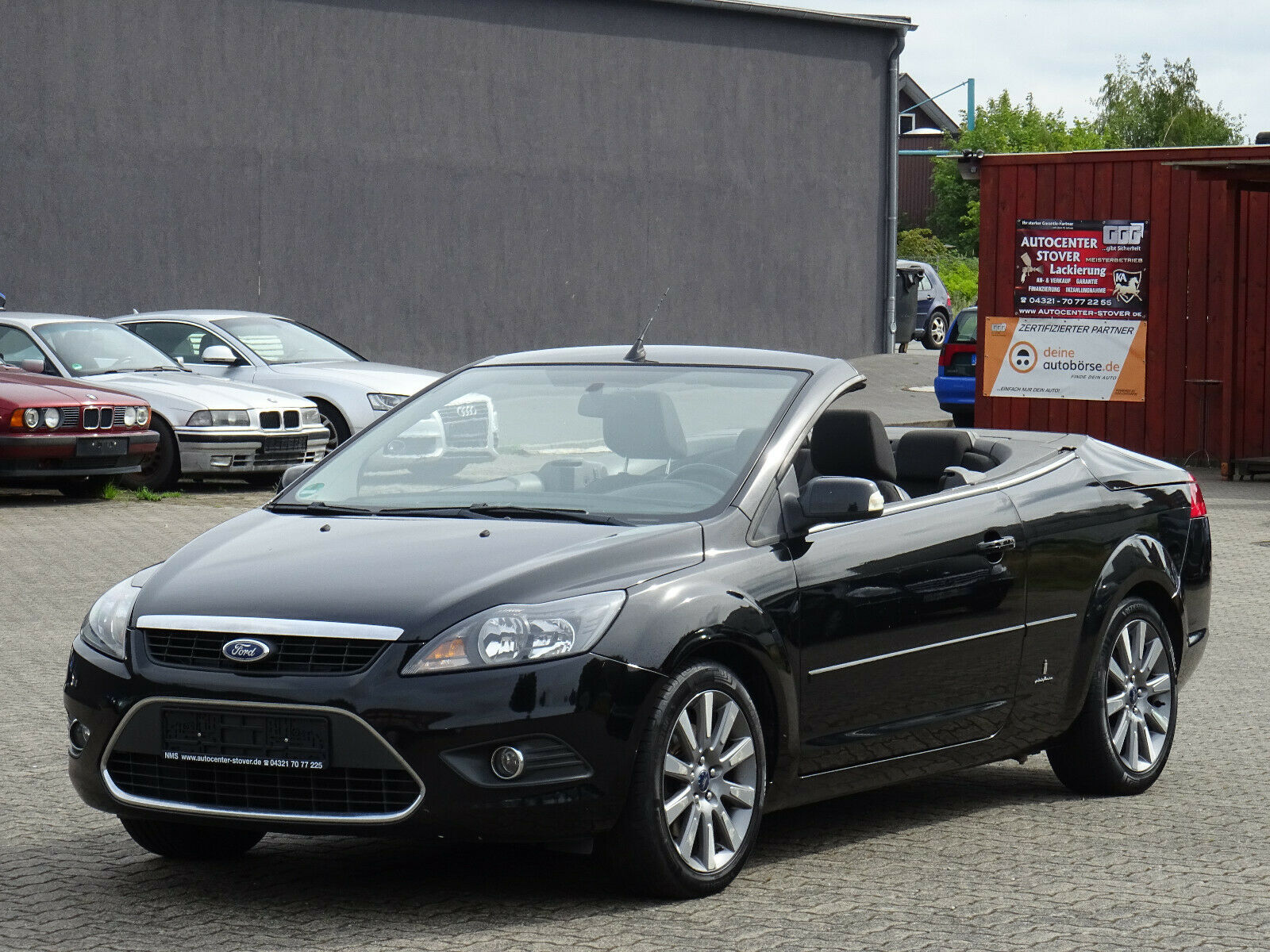 FORD Focus Coupe-Cabriolet2.0 -Klima-Alu-Standheizung