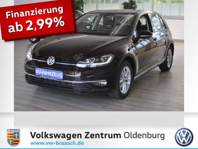 VW Golf VII 1.5 TSI DSG Highline LED, ACC Bluetooth