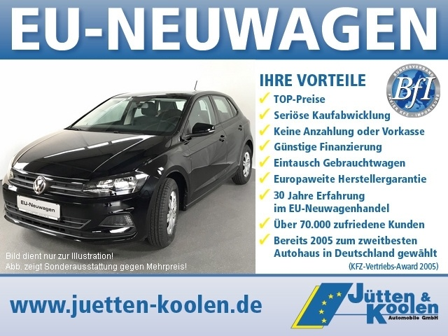 VW Polo Comfortline 1.0 TSI BMT 115PS OPF