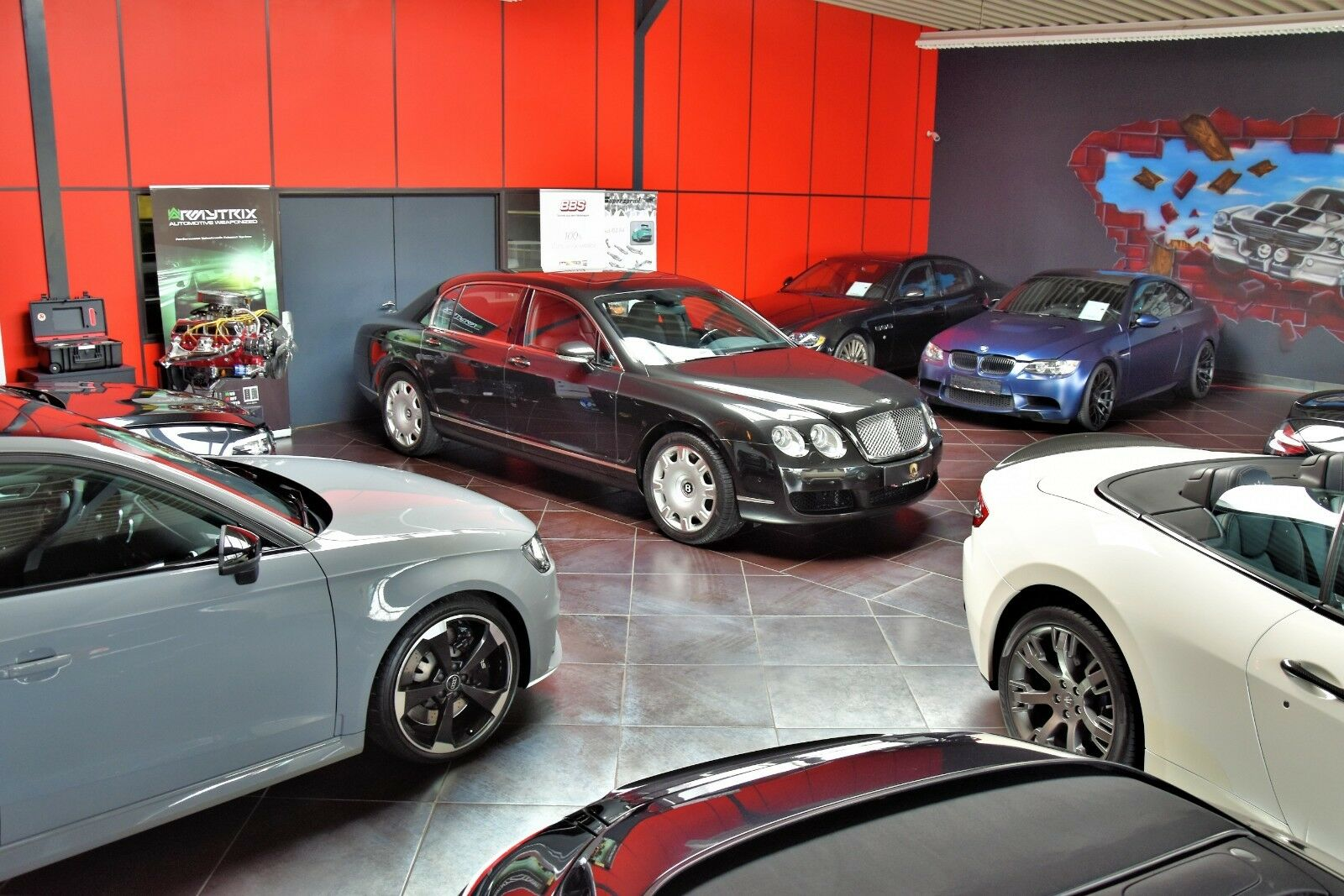 BENTLEY Continental Flying Spur W12 635 PS Service NEU