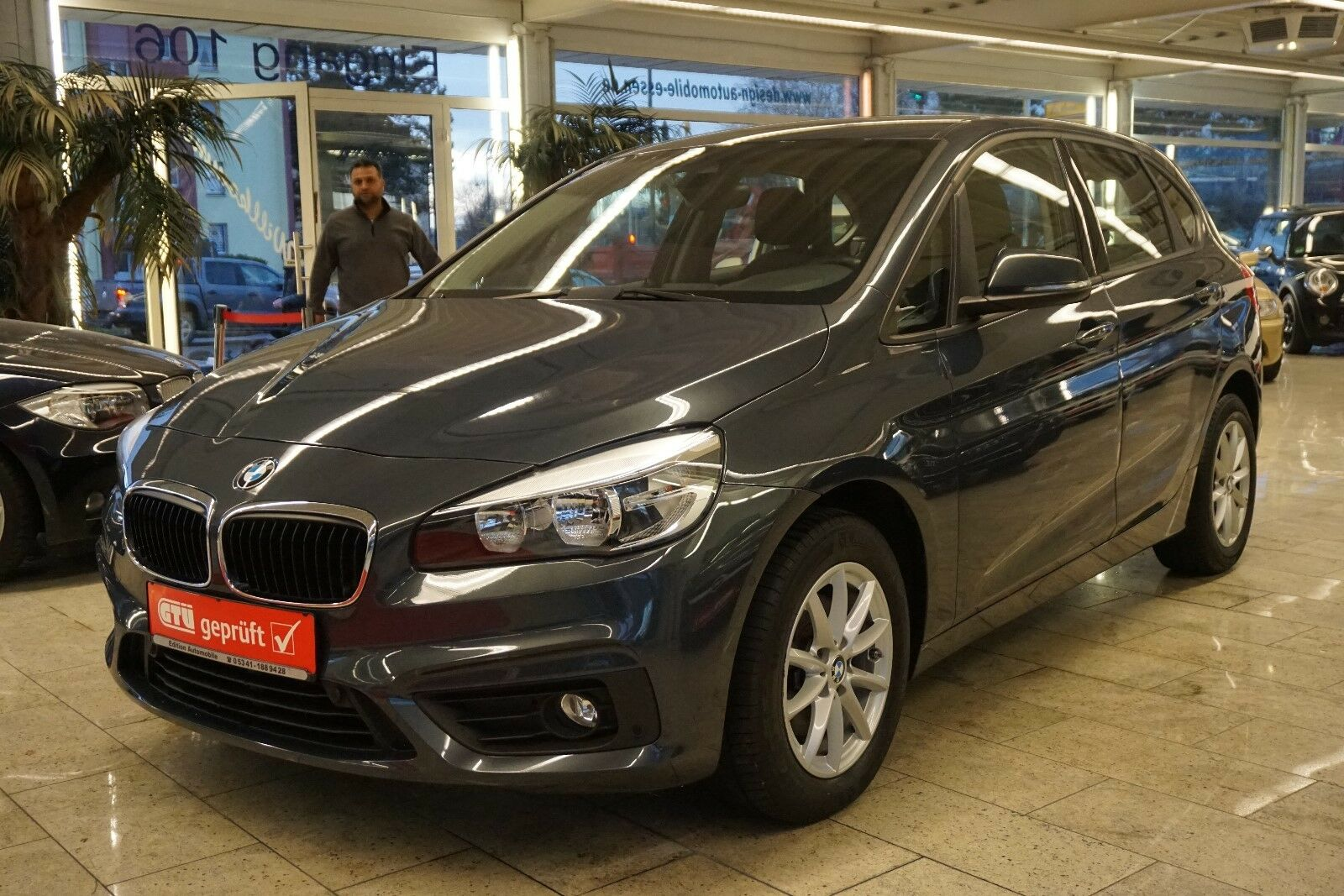 BMW 216d Active Tourer -NAVI-EURO 6-43000 KM