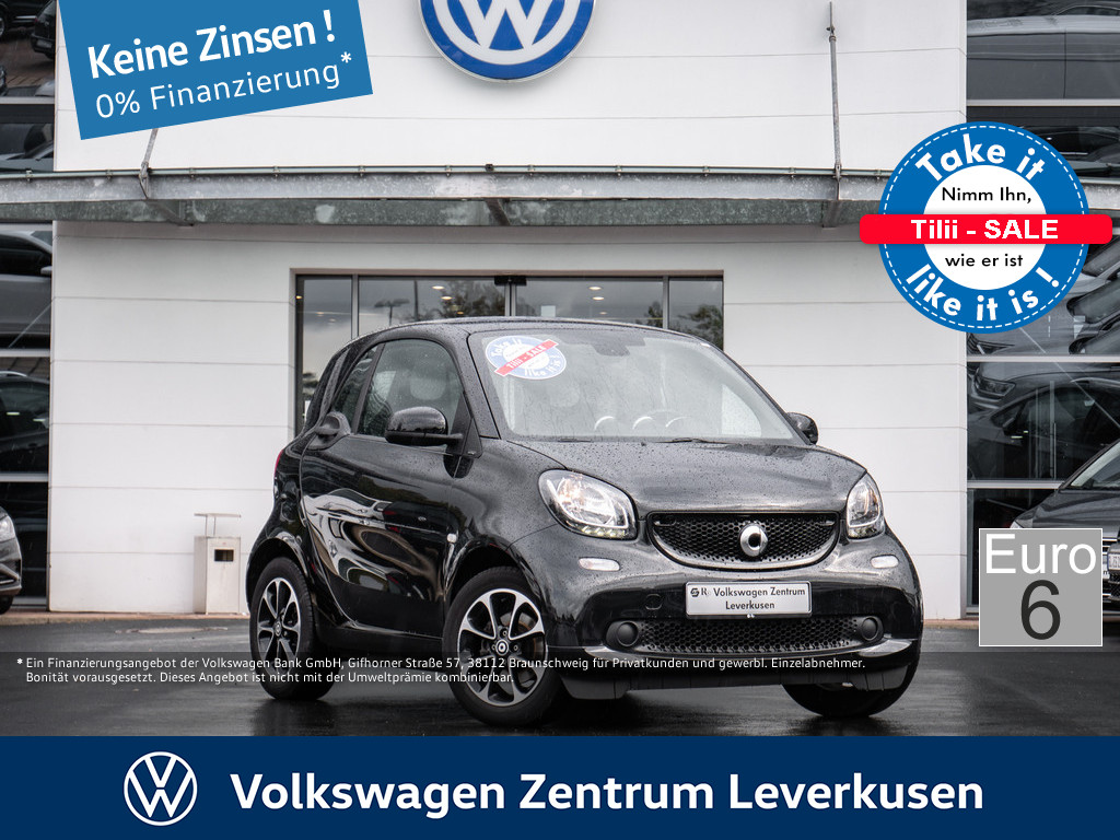 SMART fortwo coupe passion 52kw PANORAMA KLIMA EURO6
