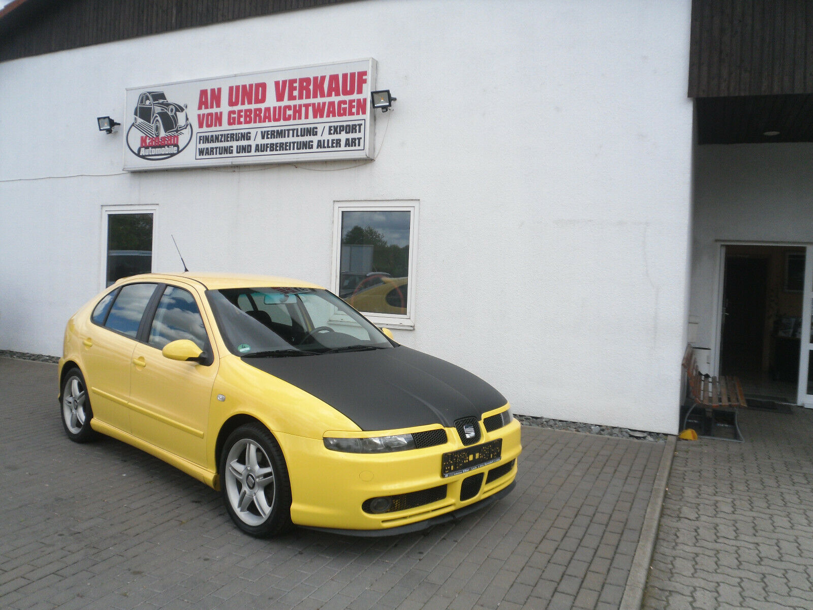SEAT Leon Top Sport 1.8 Turbo Klimaauto.Standheizung