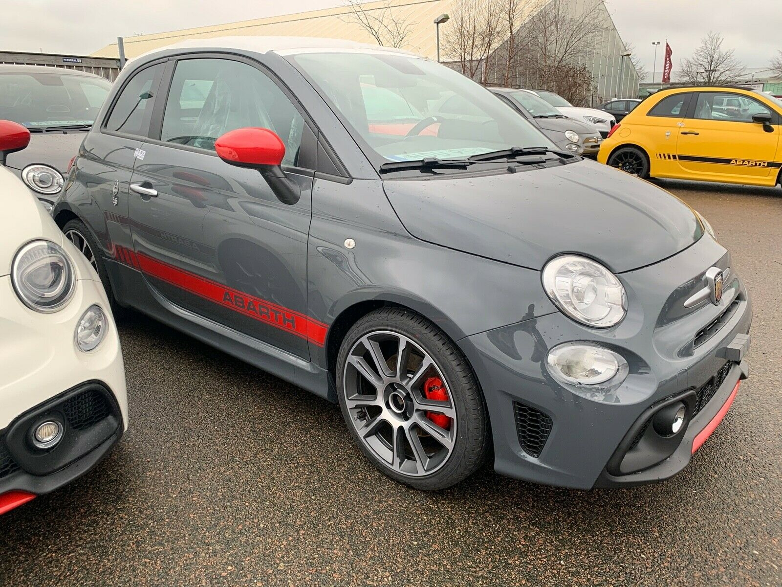 "ABARTH 595 1.4 T-Jet 16V 595 MY2020 7""Uconnect,17""Alu"