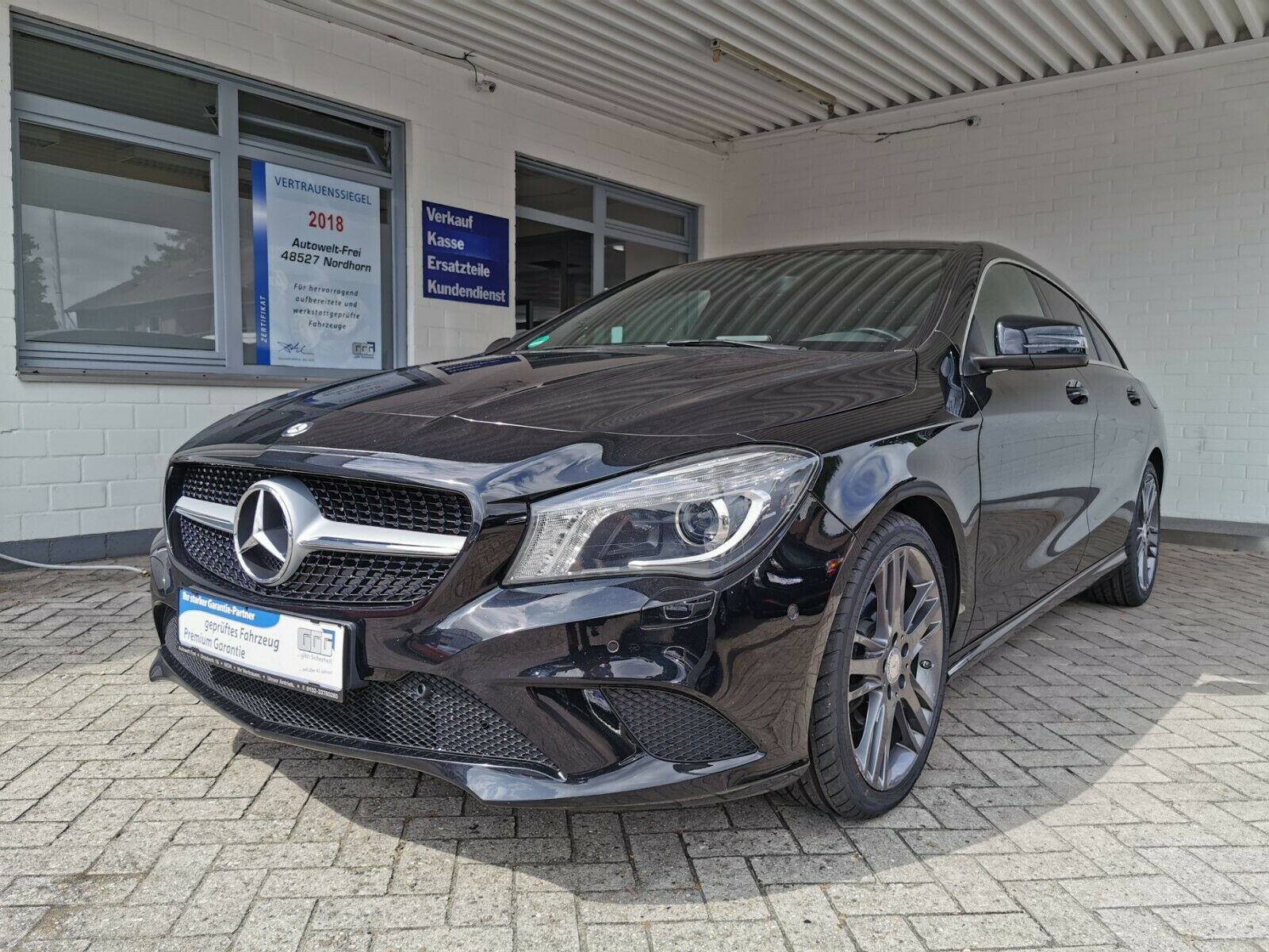 MERCEDES-BENZ CLA-Klasse Shooting Brake CLA 200 CDI *EURO6*