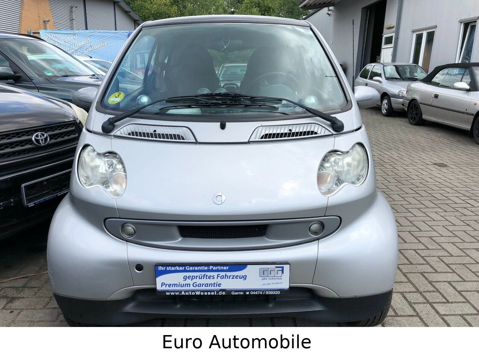 SMART coupe / fortwo coupe CDI Basis Klima Leder !