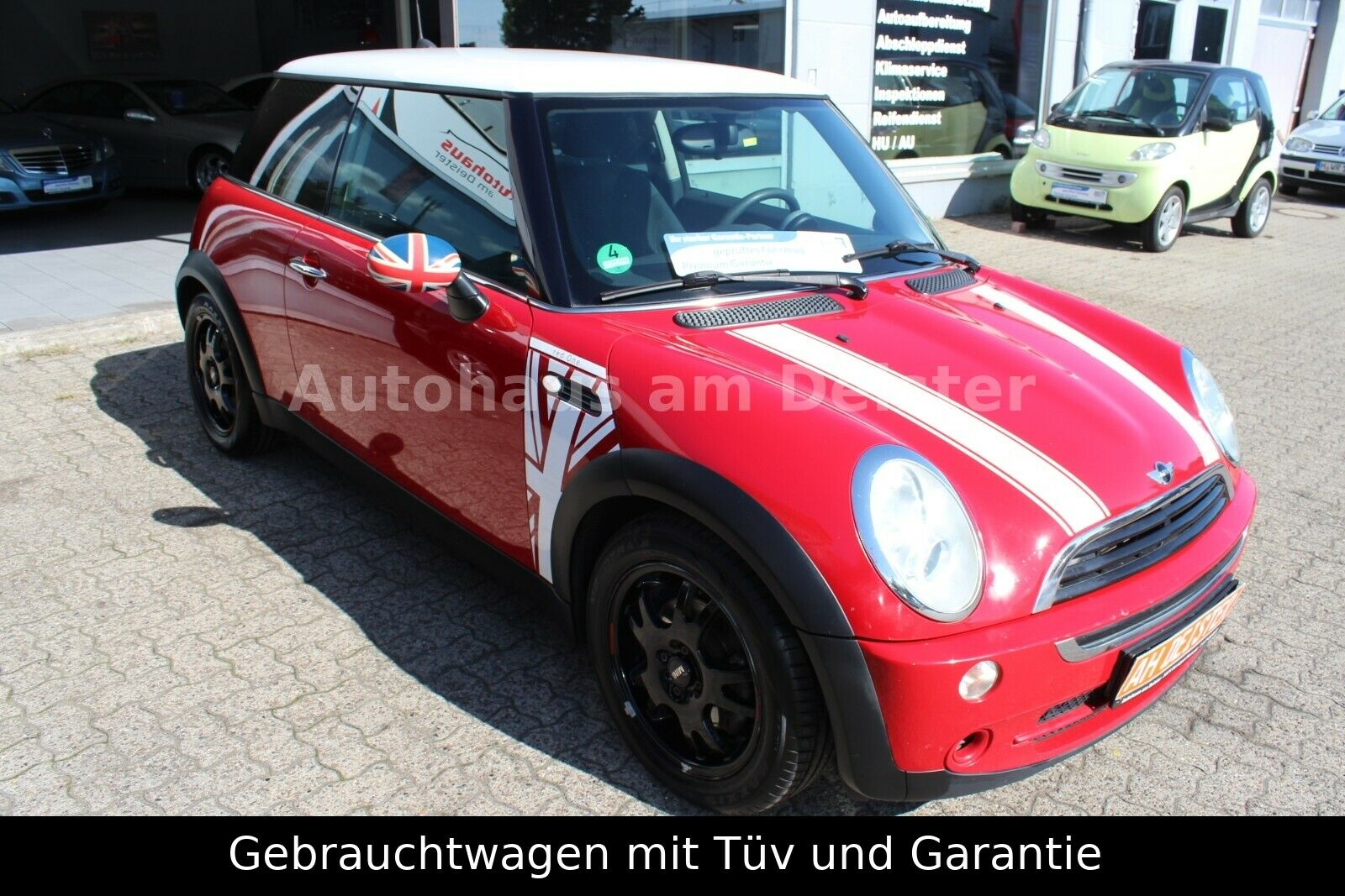 "MINI ONE*TÜV NEU*S-HEFT*ALU* ""Red-One"" EDITION!"