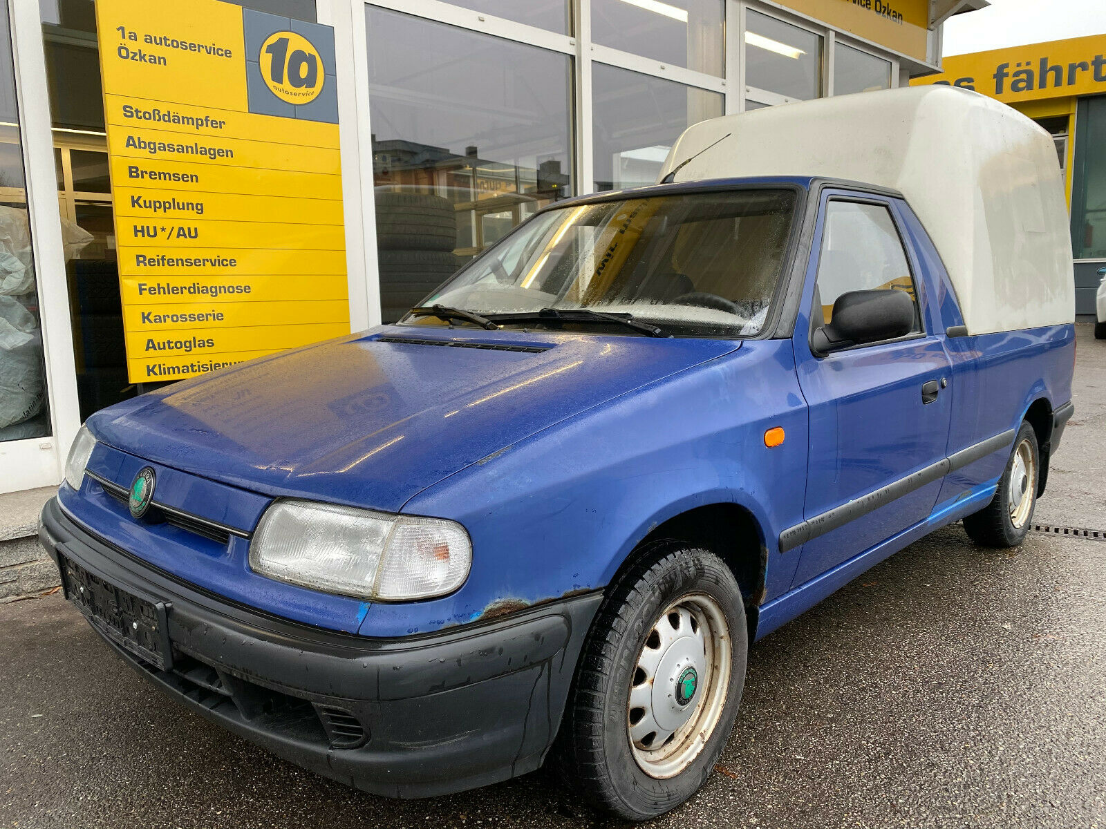 SKODA Pick-up 1.3L HARDTOP 5-GANG