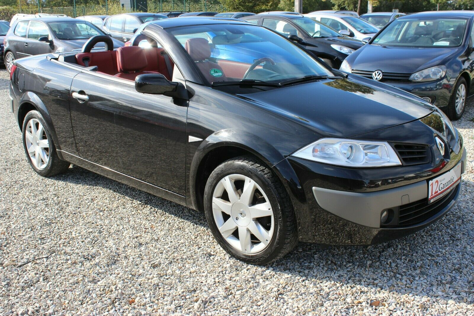 RENAULT Megane II Coupe/Cabrio2,0 -LEDER-PDC-TOP ZUSTAND