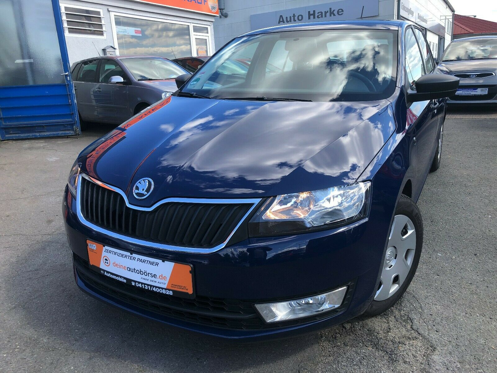 SKODA Rapid Spaceback Cool Edition Klima ABS