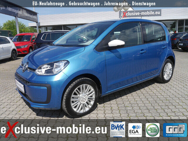 VW up! move up! 1.0 ALU LL Klima Tel Maps& More USB